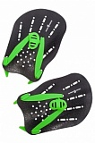 Лопатки для плавания Hand Paddles Mad Wave, Black/Green | для пловцов | BestSwim.ru